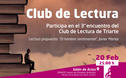 Tercer encuentro del Club de Lectura